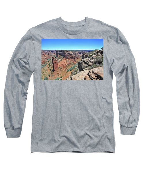 High Noon At Spider Rock Long Sleeve T-Shirt