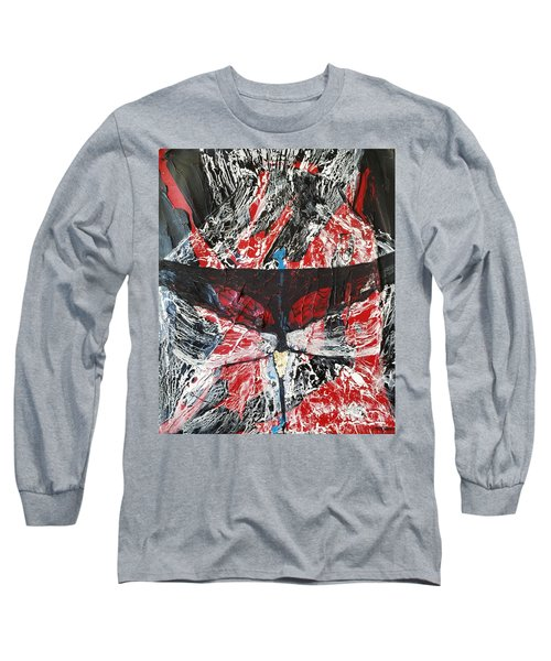 His Fiery Darkness Is Free Long Sleeve T-Shirt