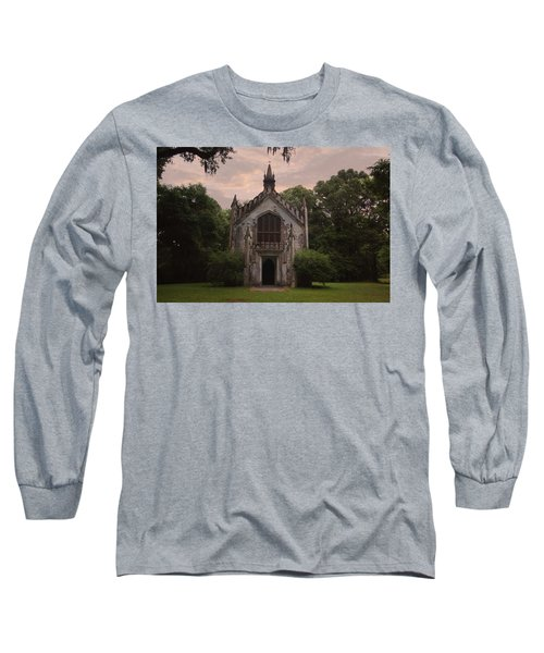 Historic Mississippi Church In The Woods Long Sleeve T-Shirt