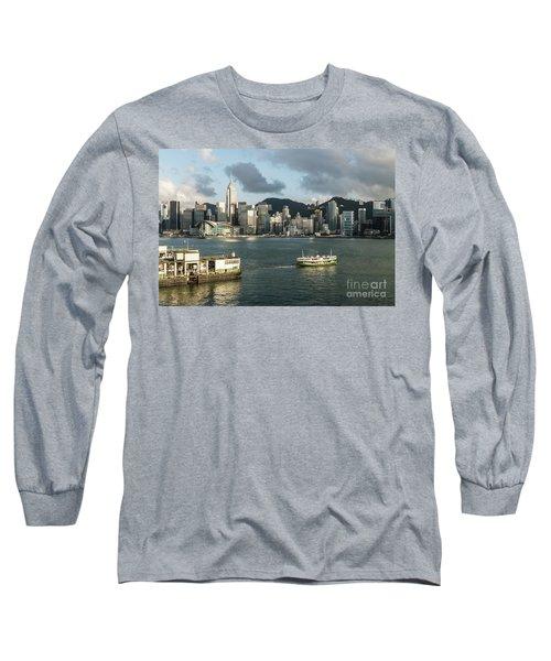 Hong Kong Star Long Sleeve T-Shirt