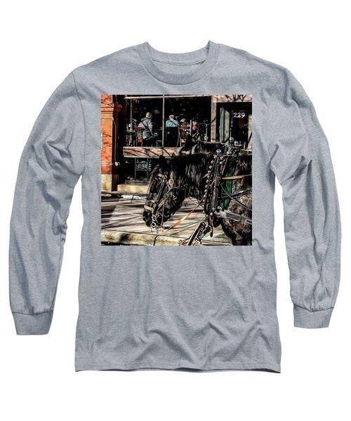 Horses Long Sleeve T-Shirt