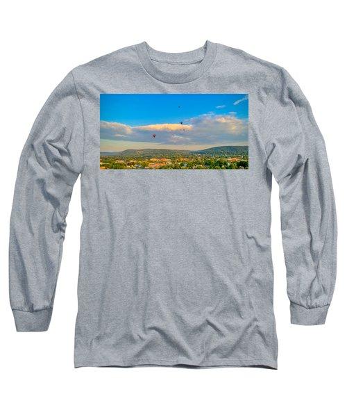 Hot Air Ballon Cluster Long Sleeve T-Shirt