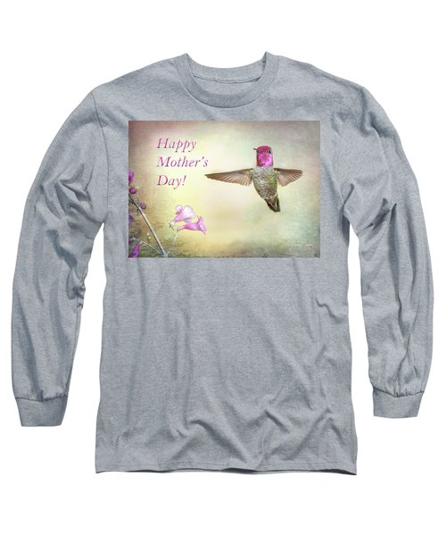 Hummer-happy Mother's Day Long Sleeve T-Shirt
