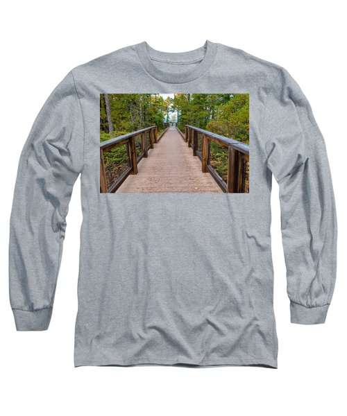 Hunter's Point At Copper Harbor Long Sleeve T-Shirt