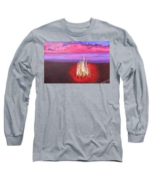 Huntington Beach Thursday Night Long Sleeve T-Shirt