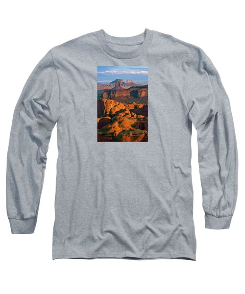 Hunts Mesa Sunrise Long Sleeve T-Shirt