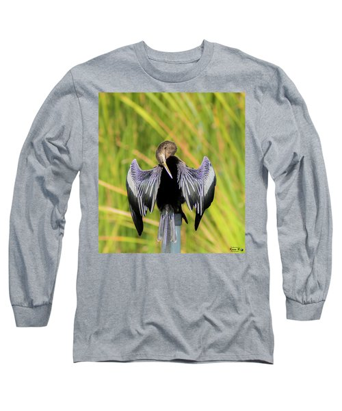 I Have An Itch Right There Long Sleeve T-Shirt