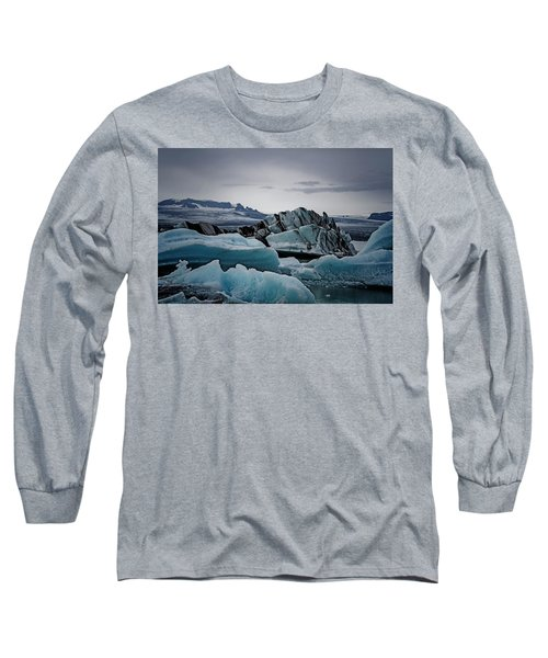 Icy Stegosaurus Long Sleeve T-Shirt