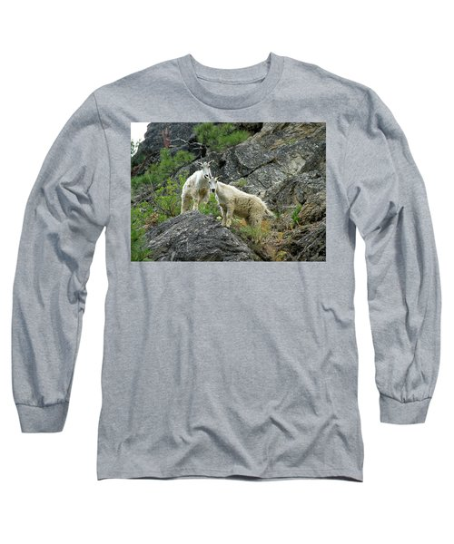 Idaho Mountain Goats Long Sleeve T-Shirt