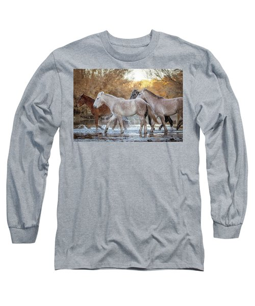 In The River Long Sleeve T-Shirt