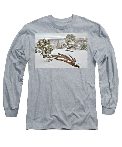 Independence Canyon Of Colorado National Monument Long Sleeve T-Shirt