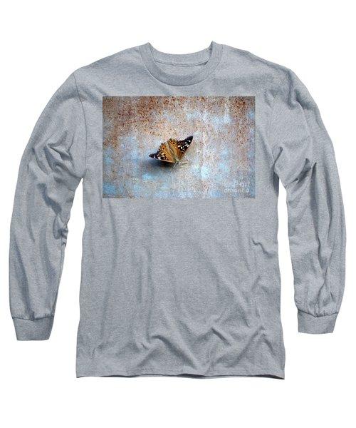 Industrious Butterfly Long Sleeve T-Shirt