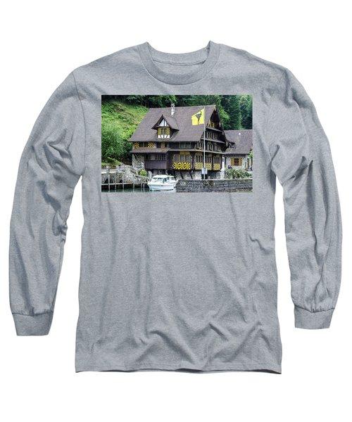 Inn On Lake Lucerne Long Sleeve T-Shirt