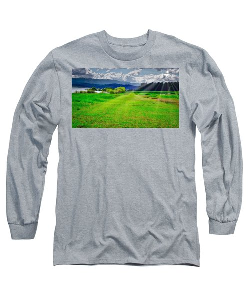 Inviting Airstrip Long Sleeve T-Shirt