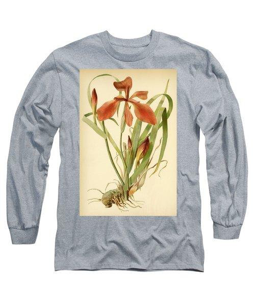 Iris Cuprea Copper Iris.  Long Sleeve T-Shirt