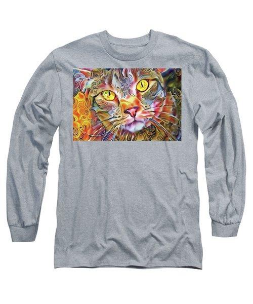 Jack The Tabby Cat Long Sleeve T-Shirt