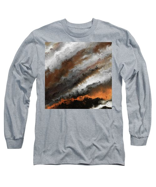 Jeremiah 20 9 Fire In My Heart Long Sleeve T-Shirt