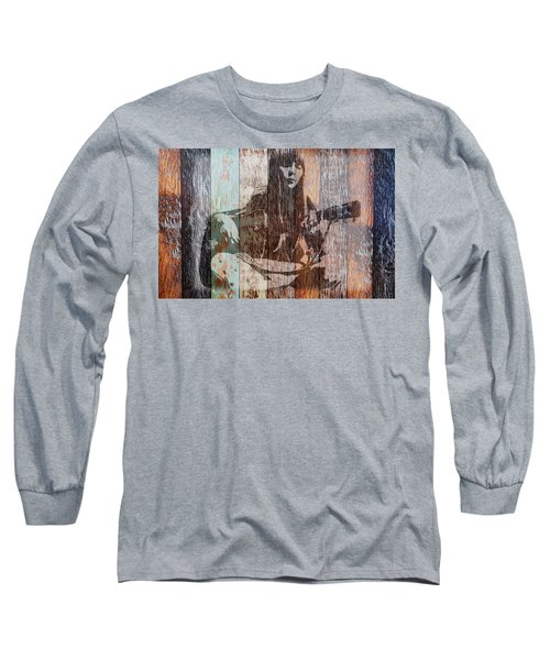 Joni Mitchell Long Sleeve T-Shirt