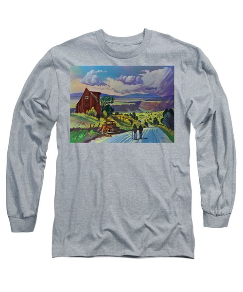 Journey Along The Road To Infinity Long Sleeve T-Shirt