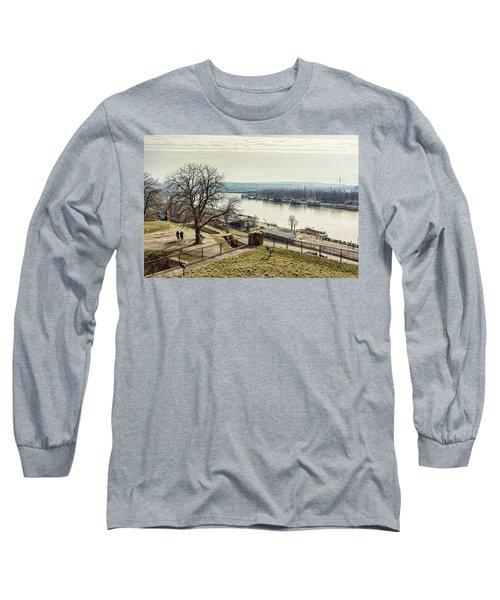 Kalemegdan Park Fortress In Belgrade Long Sleeve T-Shirt