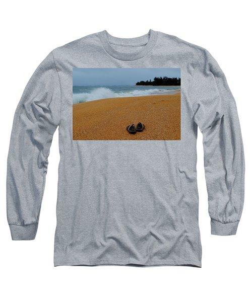 Ke'e Beach Long Sleeve T-Shirt