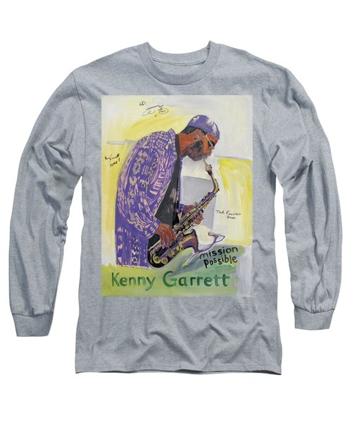 Kenny Garrett Long Sleeve T-Shirt