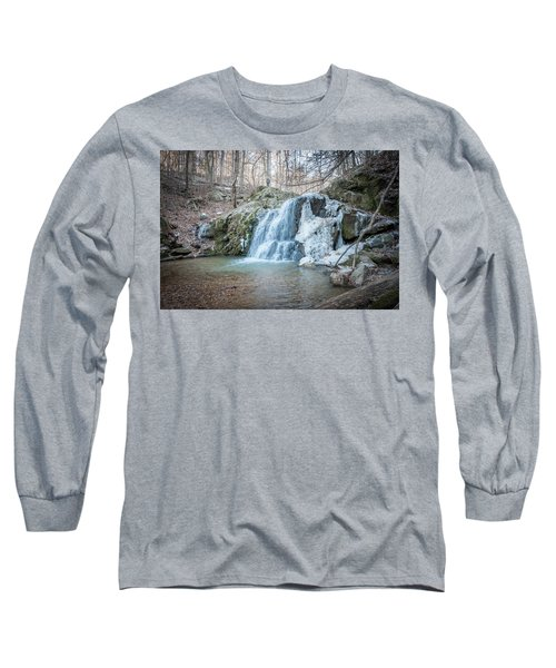Kilgore Falls In Winter Long Sleeve T-Shirt