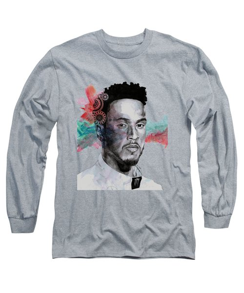 King Hammer - Tribute To Lewis Hamilton Long Sleeve T-Shirt