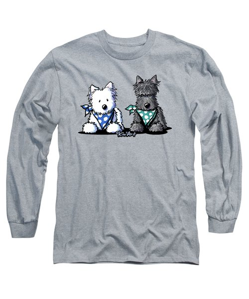 Kiniart Terrier Twosome Long Sleeve T-Shirt