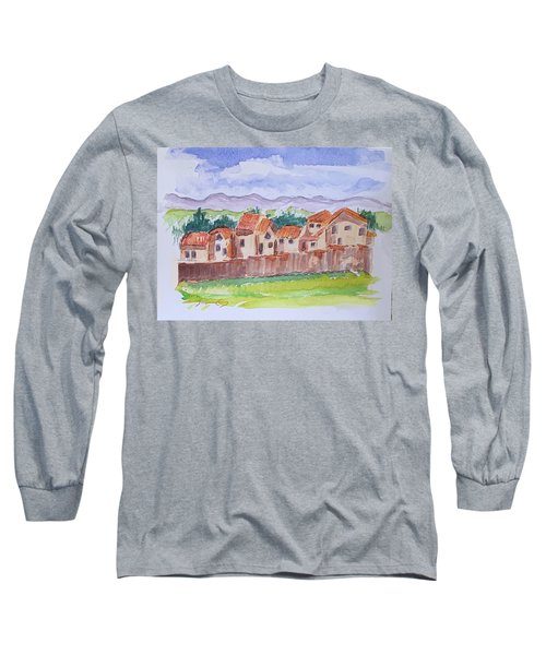 Laguna Del Sol Row Houses Long Sleeve T-Shirt