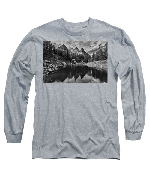 Lake In The Alps Long Sleeve T-Shirt
