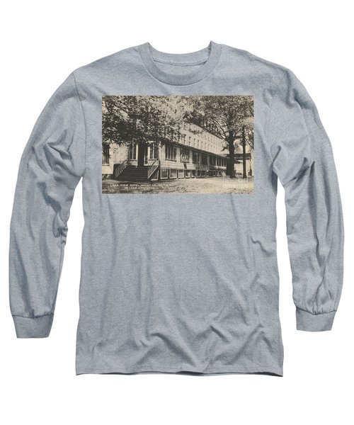 Lake View Hotel On Lake Hopatcong Long Sleeve T-Shirt