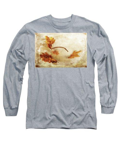 Long Sleeve T-Shirt featuring the photograph Late Late Fall by Randi Grace Nilsberg