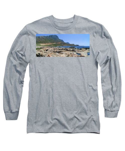Lava Rocks Of Balos Long Sleeve T-Shirt