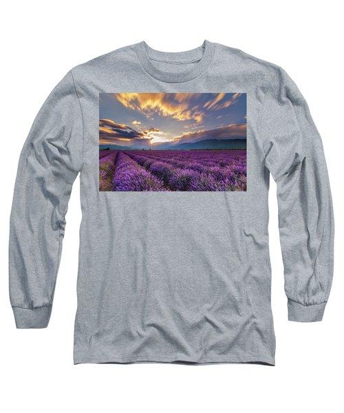 Lavender Sun Long Sleeve T-Shirt