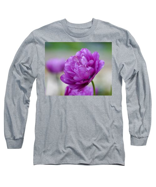 Lavender Tulip Long Sleeve T-Shirt