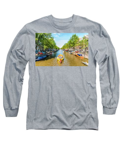Lazy Sunday On The Canal Long Sleeve T-Shirt