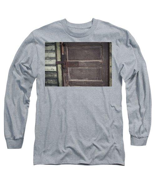Leather Door Long Sleeve T-Shirt