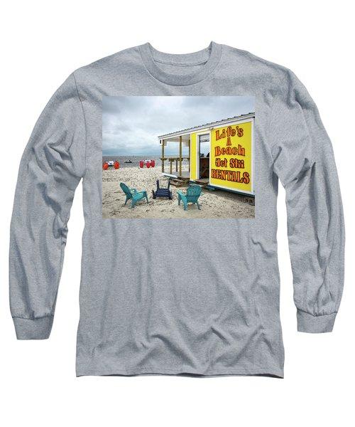 Like's A Beach Long Sleeve T-Shirt