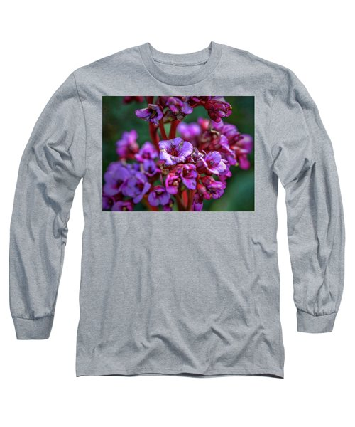 Lilac #h9 Long Sleeve T-Shirt