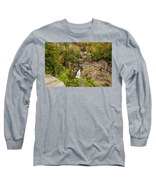 Linville Falls - Wide View Long Sleeve T-Shirt