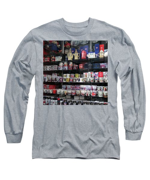 London England Shop Window Long Sleeve T-Shirt