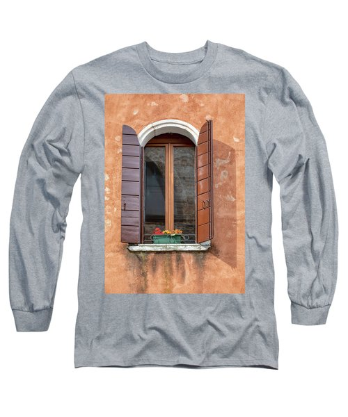 Lone Window Of Venice Long Sleeve T-Shirt