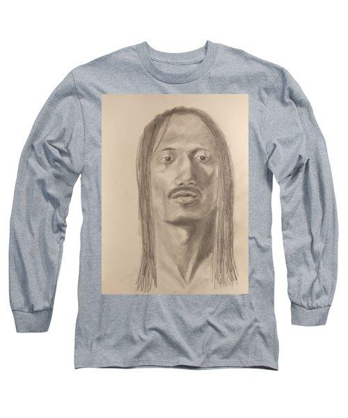 Long Hair Style Long Sleeve T-Shirt