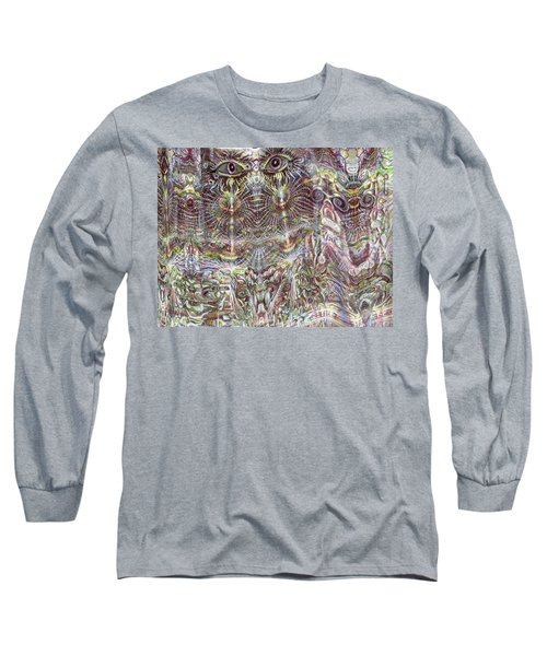 Looking Through Long Sleeve T-Shirt