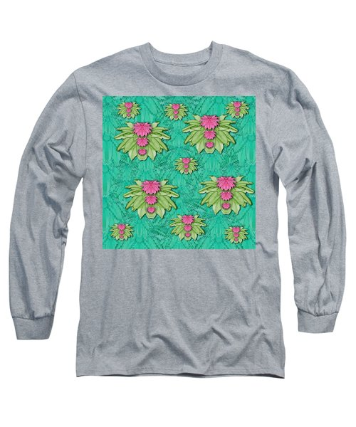 Lotus Bloom In The Sacred Soft Warm Sea Long Sleeve T-Shirt