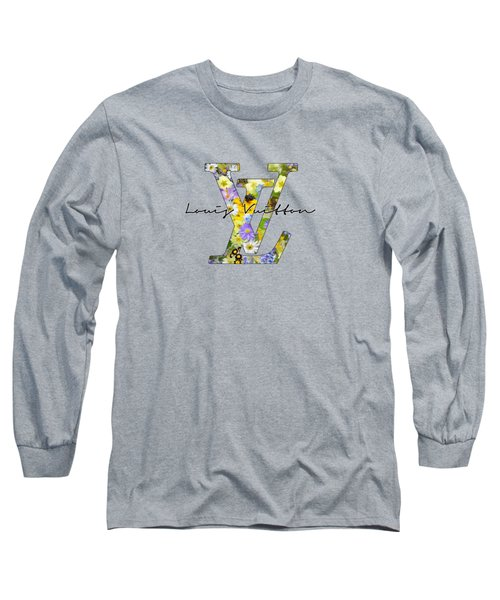 Louis Vuitton Floral Series Long Sleeve T-Shirt
