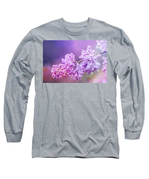 The Magic Of Lilacs In The Rain Long Sleeve T-Shirt