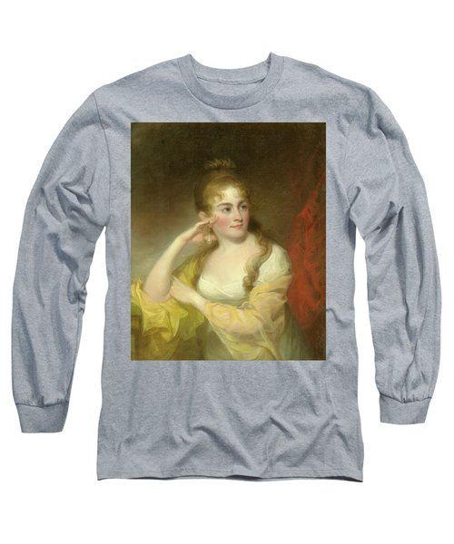 Portrait Of Lydia Leaming, 1806 Long Sleeve T-Shirt