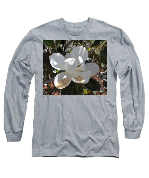 Magnificent Magnolia Long Sleeve T-Shirt